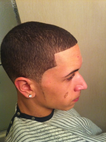 Shadow Fade Haircut
